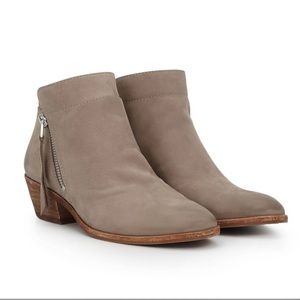 Sam Edelman Putty Leather Packer Ankle Bootie